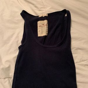 Hollister Small Navy Tank Top